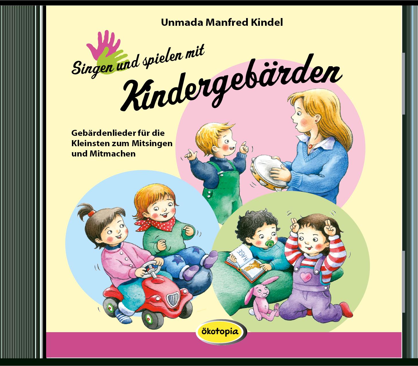 Singen und spielen mit Kindergebärden (CD)