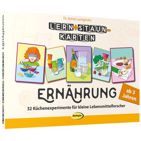 Lern+Staun-Karten: Ernährung