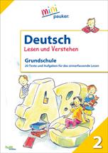Deutsch - Lesen und Verstehen - Klasse 2