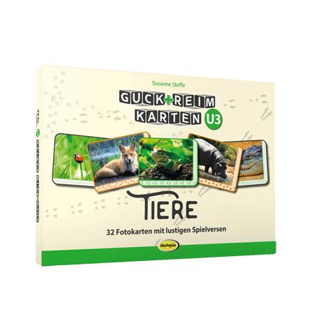 Guck-ReimKarten U3 - TIERE