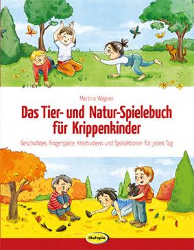 Das Tier- und Natur-Spielebuch für Krippenkinder